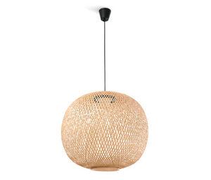 LED-Pendelleuchte »Bambusgeflecht«