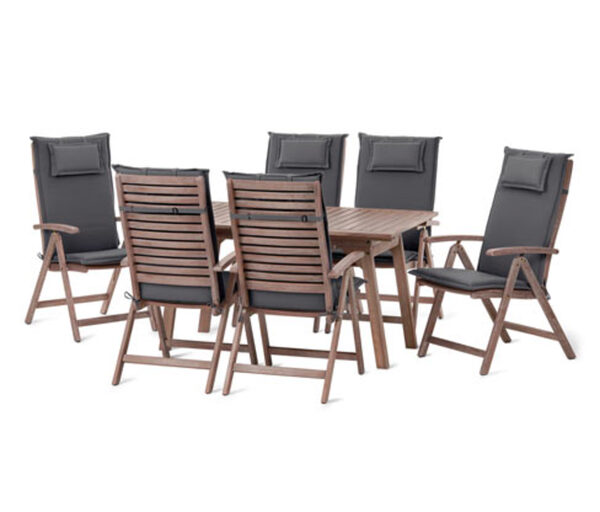 Garten-Sitzgruppe, 7-teilig