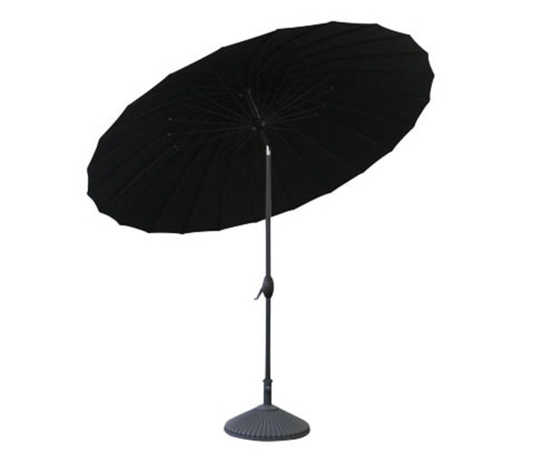 Leco-Aluminium-Sonnenschirm »Shanghai«, Ø ca. 270 cm, schwarz