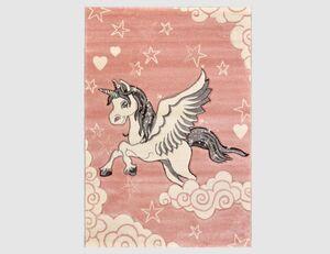Teppich Einhorn rosa