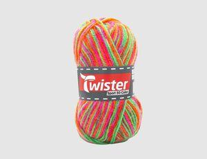 Strickgarn Twister gemustert