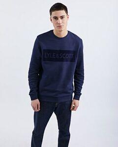 Lyle & Scott Flock Logo - Herren Sweatshirts