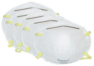 Atemschutz Staubmaske Schutzklasse FFP1, 5er-Pack