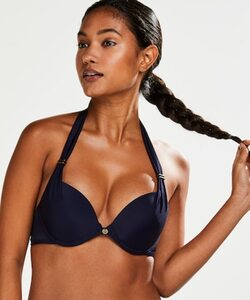 Hunkemöller Vorgeformtes Push-up-Bikinitop Sunset Dream Cup A - E Blau