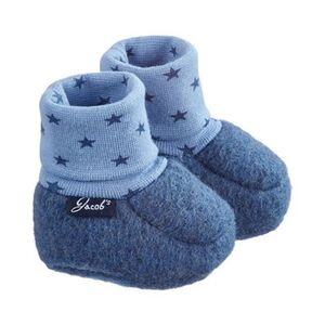 Jacob`s     Baby-Schlupfschuhe Filz Sterne