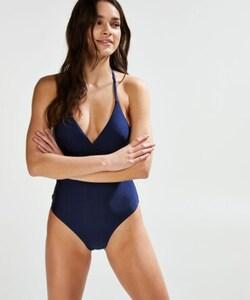 Hunkemöller Badeanzug True Blue Blau