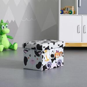 BOX in multicolor 'Cow'