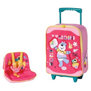 BABY born Holiday Trolley mit Puppensitz
