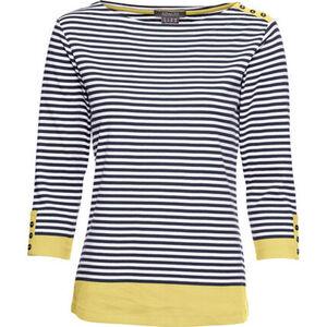 Adagio Shirt,3/4 Arm, Rundhalsausschnitt, gestreift, für Damen