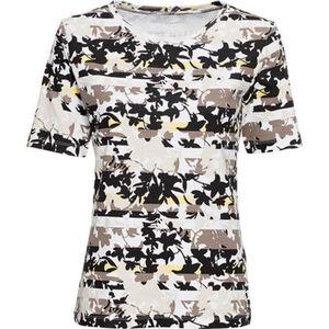 Adagio Shirt, Kurzarm, Muster-Print, für Damen