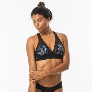 Bikini-Oberteil Bustier Isa Sei Surfen im Rücken verstellbar Damen