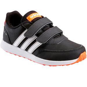 Sportschuhe Walking Klettverschluss Switch Kinder schwarz