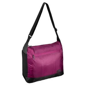 Umhängetasche kompakt Travel 100 für Trekking/Reise 15 Liter violett