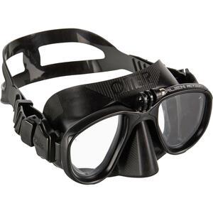 Tauchmaske Freediving Alien schwarz
