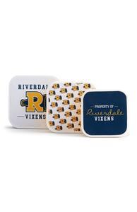 """Gelbe """"Riverdale"""" Tupperware, 3er-Pack"""