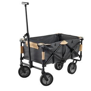 Bollerwagen klappbar für Familienzelt und Campingausrüstung