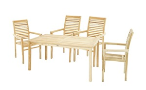 Garten Sitzgruppe, 5-teilig