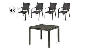 Garten-Sitzmöbel, 5-teilig