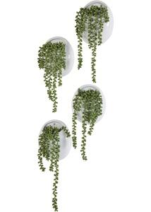 Kunstpflanze im Wandtopf