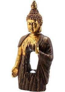 Solar Deko Buddha