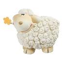Bild 2 von Deko-Schaf mit Blümchen im Mund, ca. 11x7x10cm