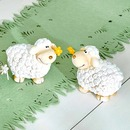 Bild 3 von Deko-Schaf mit Blümchen im Mund, ca. 11x7x10cm