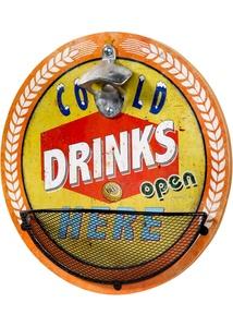 Flaschenöffner mit Cold Drinks Aufdruck