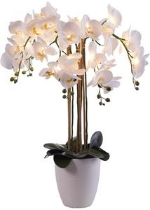 LED-Kunstblume Orchidee