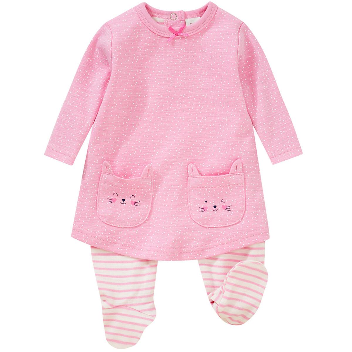 Bild 1 von Newborn Stramplerkleid mit Katzentaschen