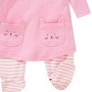 Bild 3 von Newborn Stramplerkleid mit Katzentaschen
