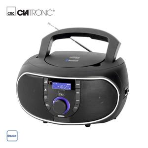 Bluetooth®-Stereo-Radio SR 7028 BT/CD • CD-Player, Aux-In • PLL-UKW-Radio • Netz- oder Batteriebetrieb  *Logo: Icon_Bluetooth *UVP: 59,95*