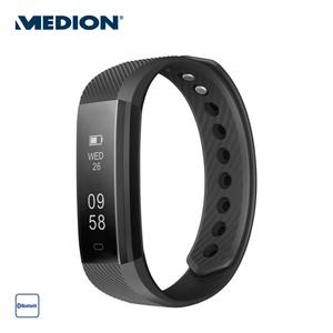 Fitnessarmband E1500 · Schrittzähler, Kalorienverbrauch, Schlafüberwachung, Wecker · staub- und spritzwassergeschützt