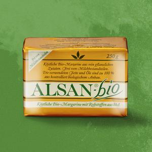 Alsan-bio Margarine jede 250-g-Packung