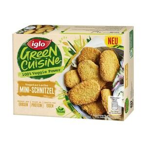 iglo Green Cuisine Linguine Bolognese oder Vegetarische Mini Schnitzel gefroren, jede 400/200-g-Packung und weitere Sorten