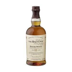 Balvenie Double Wood 12 Jahre Single Malt Scotch Whisky 40 % Vol., jede 0,7-l-Flasche