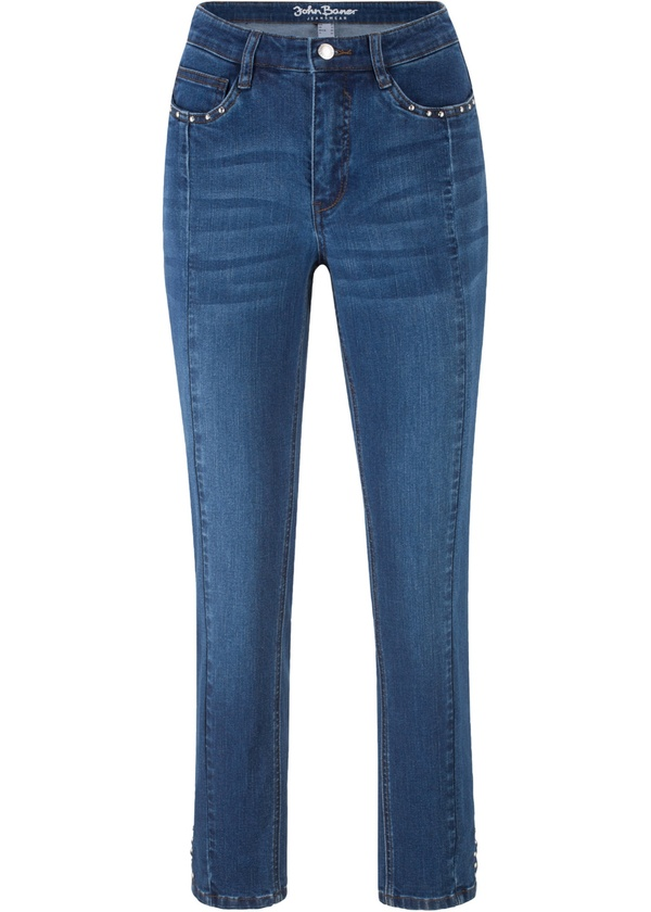 Multi-Strech-Slim-Jeans, verkürzt