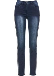 Jeans mit Glitzerband