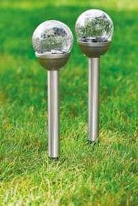 Solarlampe Bruchglas