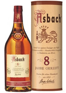 Asbach Privatbrand 8 Jahre, in Geschenkverpackung