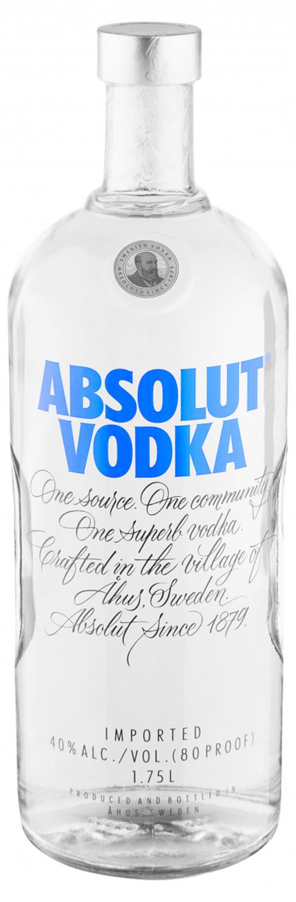 Absolut Vodka - 1,75 L