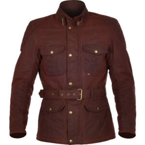 Oxford Bradwell Textiljacke        oxblood red