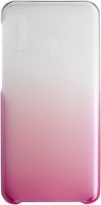 Gradation Cover für Galaxy A20e pink