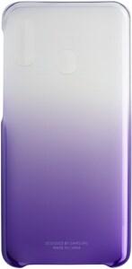 Gradation Cover für Galaxy A20e violett