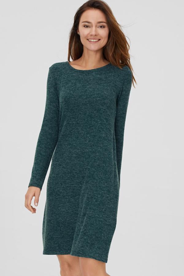 C&A Basic-Kleid, Grün, Größe: XL von C&A für 9,99 € ansehen!