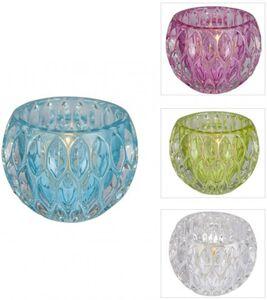 Teelichtglas - 8 x 6 cm - 1 Stück