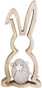 Dekohase - aus Holz - 9 x 2 x 20 cm