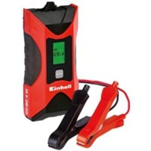 Einhell Batterie-Ladegerät CC-BC 4 M mit mehrstufigem Ladezyklus, 6 V/12 V 3-120 Ah, 1 Stück