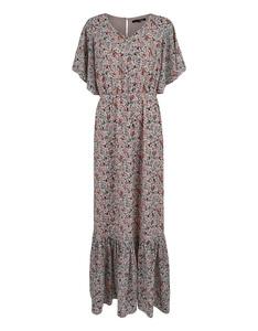 My Own - Chiffon-Crepe-Kleid mit Milles-Fleur-Druck