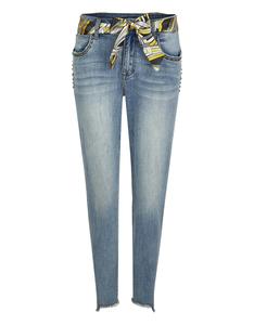Bexleys woman - Jeans mit Tuchgürtel und Nieten an den Taschen