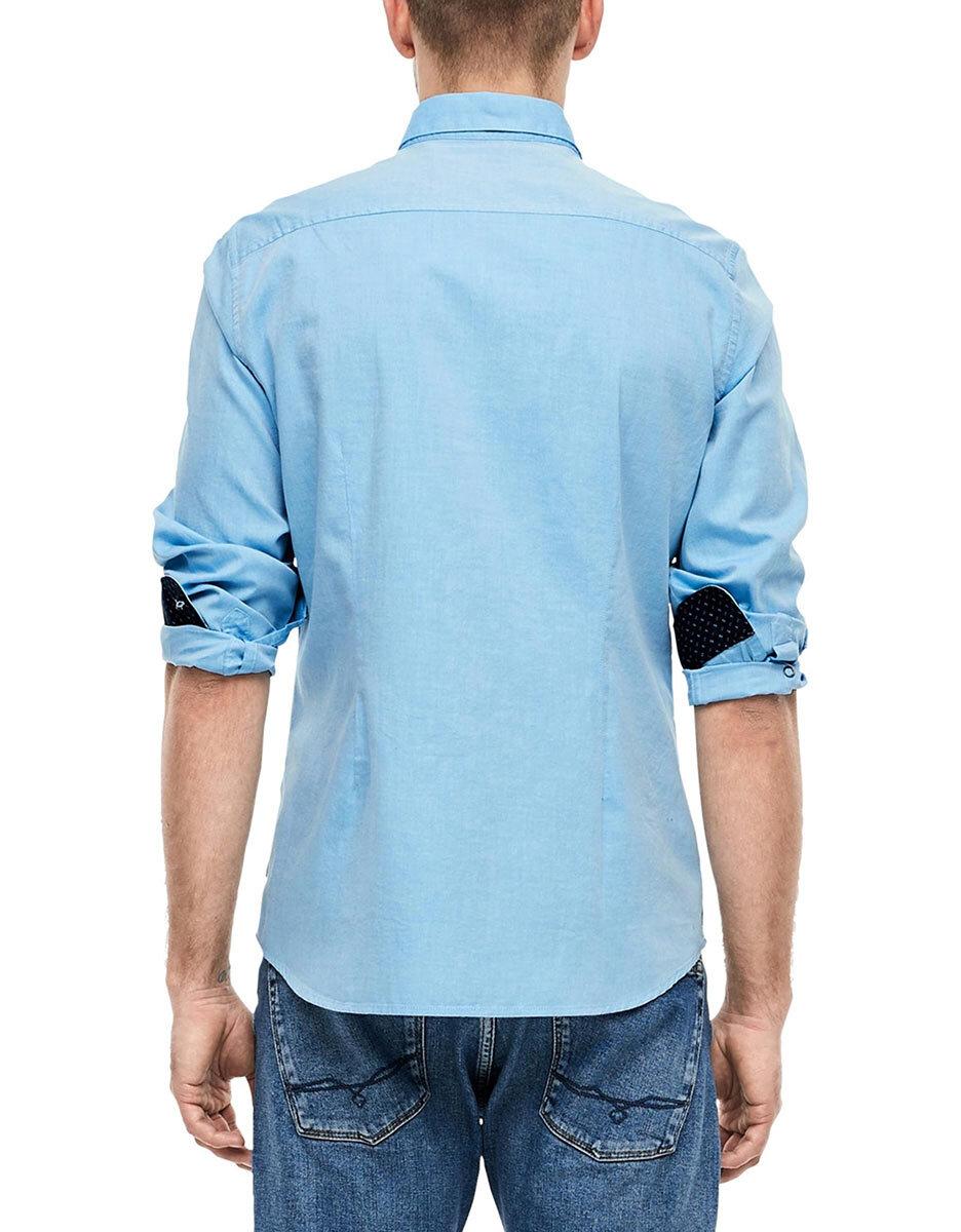 Bild 2 von s. Oliver - Hemd mit Button-Down-Kragen
